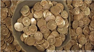 Byzantine gold coins
