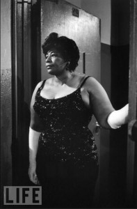 Ella Fitzgerald far outclassing her surroundings
