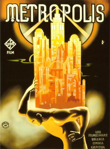 Metropolis poster, designed by Josef Bottlik, Berlin, 1927