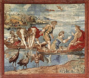 The Miraculous Draught of Fishes, tapestry from Raphael's cartoon