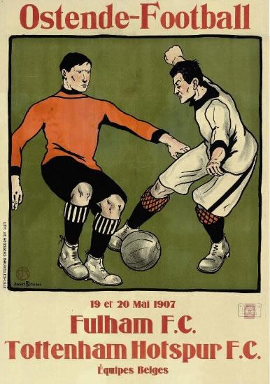 Blandin Ostende Football Poster 1907