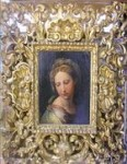 Possible Rafael in its gilded 17th century frame