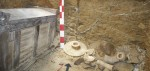 2nd dynasty tomb with house coffin and funereal furniture