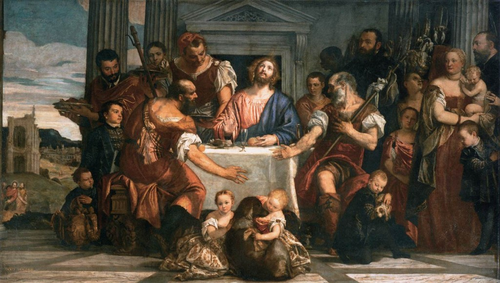 """Supper at Emmaus"" by Veronese  ca. 1559"