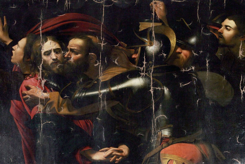 'The Kiss of Judas', Caravaggio, 1602
