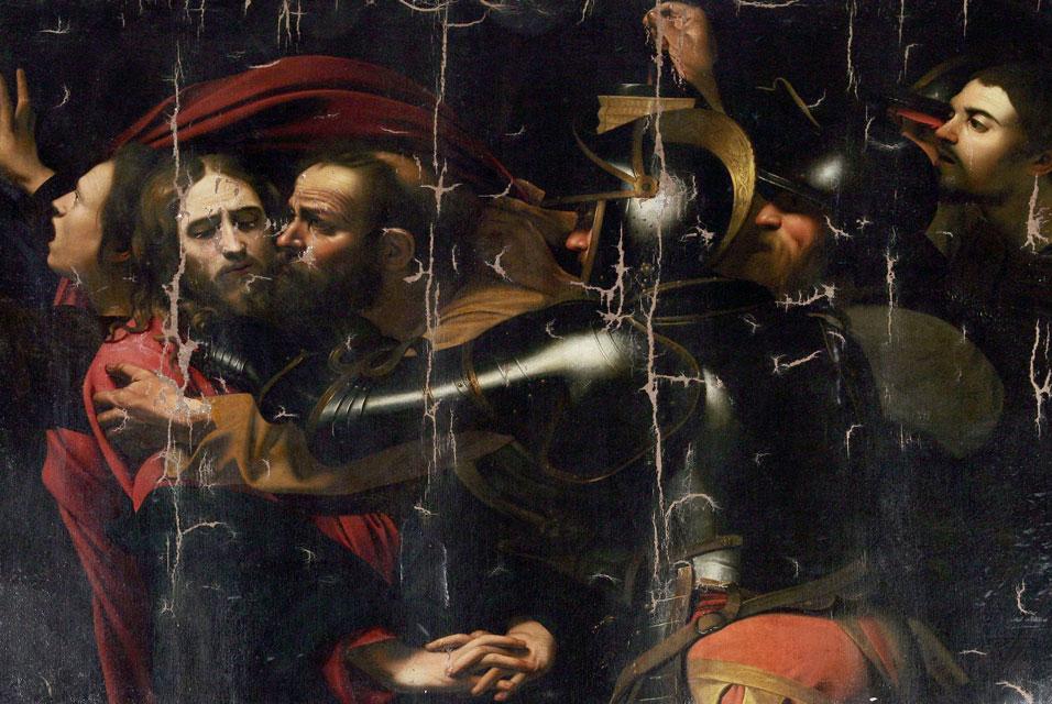 'The Kiss of Judas', Caravaggio, 1602