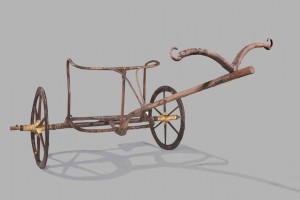 King Tut's hunting chariot