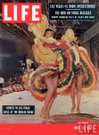 Moulin Rouge dancers on cover of LIFE, June 1955