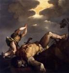 """David and Goliath"", Titian, 1542-44"