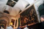 Sacristy ceiling water damage