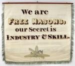 Masons banner back