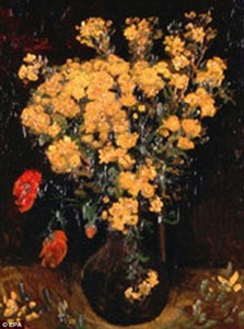 'Poppy Flowers' by Vincent Van Gogh, 1887