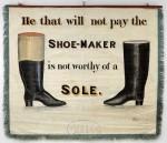 Shoemakers banner back