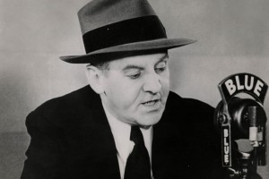 Still of Walter Winchell from 'The March of Time'