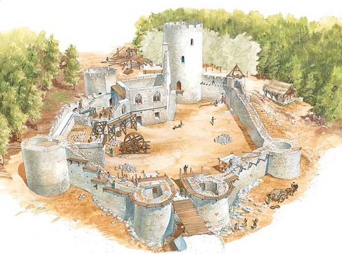 The History Blog Blog Archive A Medieval Castle In The