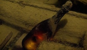 200-year-old champagne in Baltic shipwreck