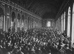 Signing of Versailles Treaty in the Hall of Mirrors, June 28, 1919