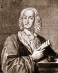 Engraving of Antonio Vivaldi, 1725