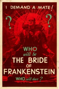 'The Bride of Frankenstein' teaser poster, 1935