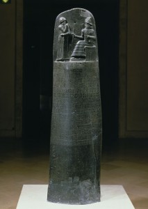 Stele of Codex Hammurabi, 1792-1750 B.C., Louvre