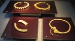 Four gold torcs found in Stirling, Scotland, 300-100 B.C.