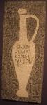 Garum amphora, mosaic from the villa of Aulus Umbricius Scaurus, Pompeii