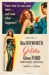 'Gilda' poster, 1946