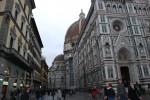 Fiberglass David on the Duomo