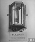 Mount Vernon Bastille key, photograph by Alfred Eisenstaedt, 1944, LIFE magazine