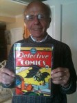 Robert Irwin with his copy of DC #27