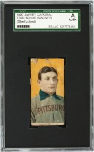 T206 Honus Wagner card