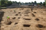 Roman village excavated in Syon Park