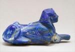 Lapis lazuli sphinx bracelet inlay