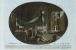 1789 drawing of &quot;L&#039;homme au Masque de Fer,&quot; the Man in the Iron Mask
