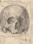 Scharf's sketch of Richard II's skull