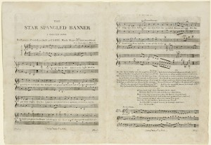 "1814 first edition ""The Star Spangled Banner"""