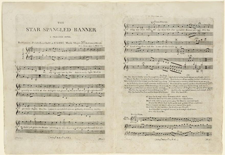"Lyric star banner lyrics : The History Blog » Blog Archive » ""Star Spangled Banner"" first ..."