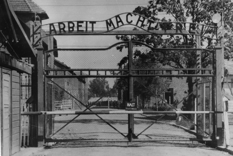 """Work Sets You Free"" (Auschwitz Gate)"