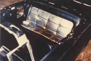 JFK assassination limo seat