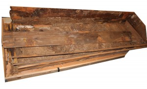 Lee Harvey Oswald's coffin