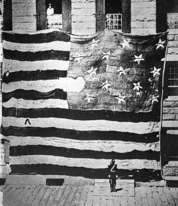 On display at the star-spangled banner centennial, Baltimore, Maryland, September, 1914