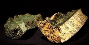 Two fragments of handguns from Battle of Towton, 1461