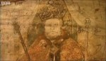 Henry VIII mural, detail