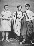 Junius, Edwin & John Wilkes Booth in Julius Caesar