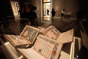 Manuscripts from the Sistine Chapel Sacristy on display