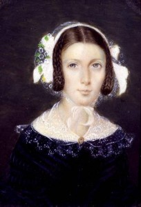Portrait Miniature of Fanny Brawne, 1833
