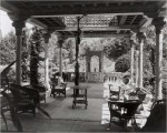 The Daffodil Terrace at Laurelton Hall before the fire