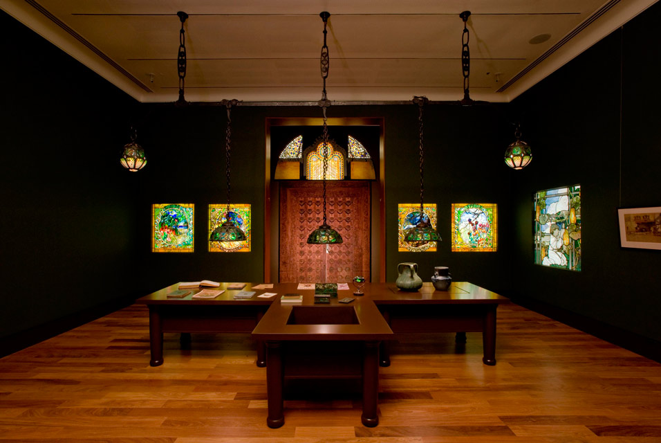The living room gallery, Morse Museum