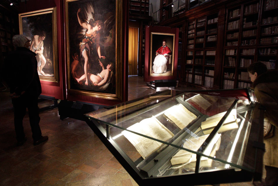 Caravaggio documents and art on display at State Archives