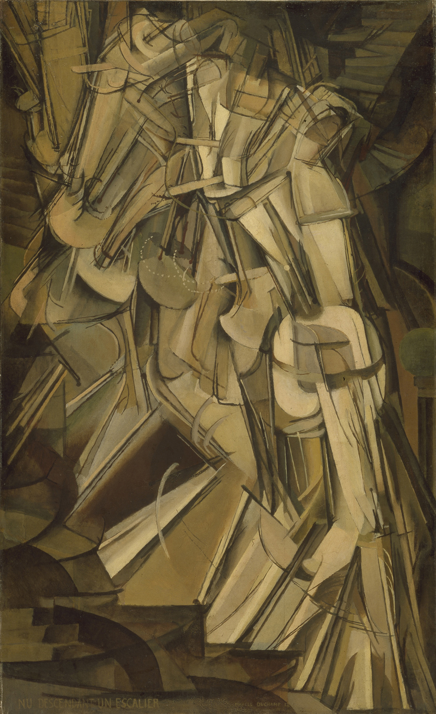 Nude Descending a Staircase No. 2 Marcel Duchamp teen addiction | Comments: